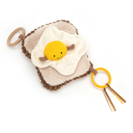 Jellycat, Egg on toast, activity toy