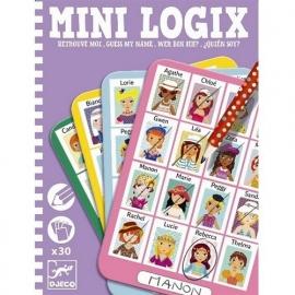 Mini logix, wie ben ik, meisjes, Djeco