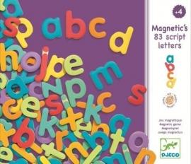 Magnetische script letters, Djeco