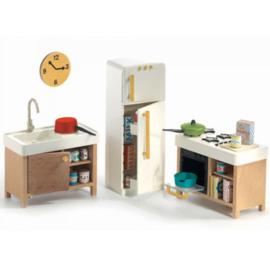 Keuken, poppenhuis, Djeco
