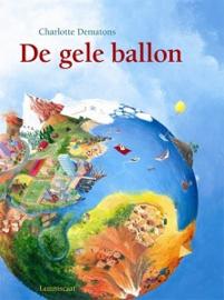 De gele ballon, kartonboek, Charlotte Dematons 4+