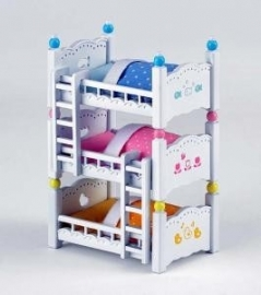 Triple bunk beds, Sylvanian Families, 4448