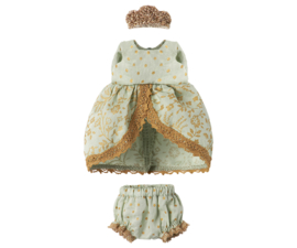 Maileg princess dress muisje, mint