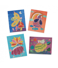 Djeco kralen schilderijen, sprookjeswereld