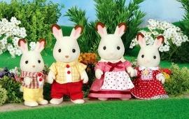 Chocolate Rabbit Family, 4150