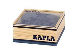 Kapla, kistje 40 stuks, donkerblauw