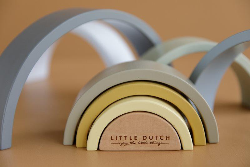 Regenboog blauw, Little Dutch