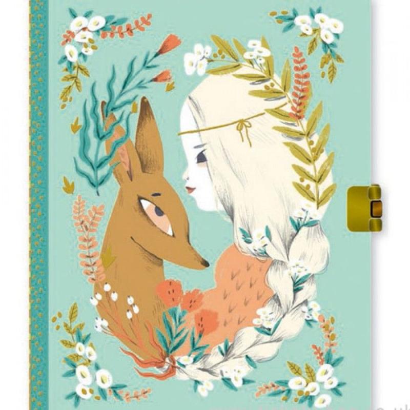 Djeco Dagboek met slotje, Lucille
