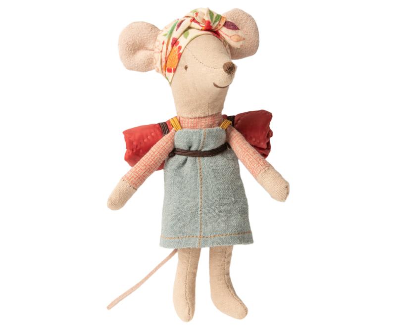 Hiking mouse big sister, Maileg