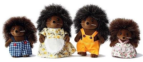 Hedgehog Family, 4018