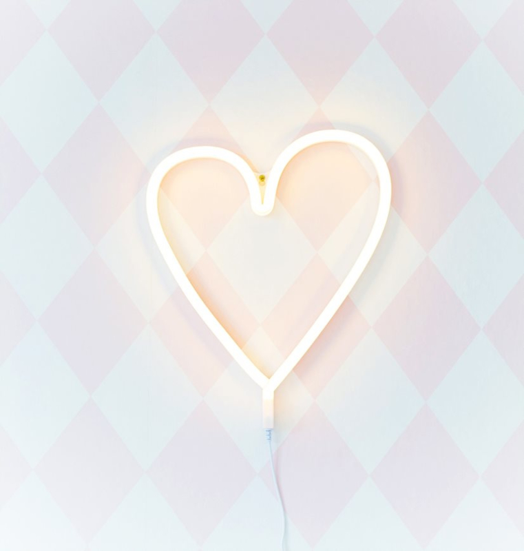 Neon lamp hart, A little lovely company