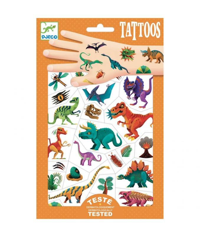 Djeco tattoo dinosaurus
