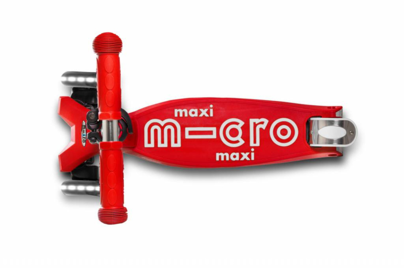 Maxi de luxe, rood, LED, Micro Step