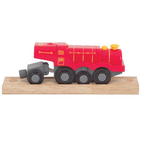 Batterij trein, rood, Bigjigs Rail