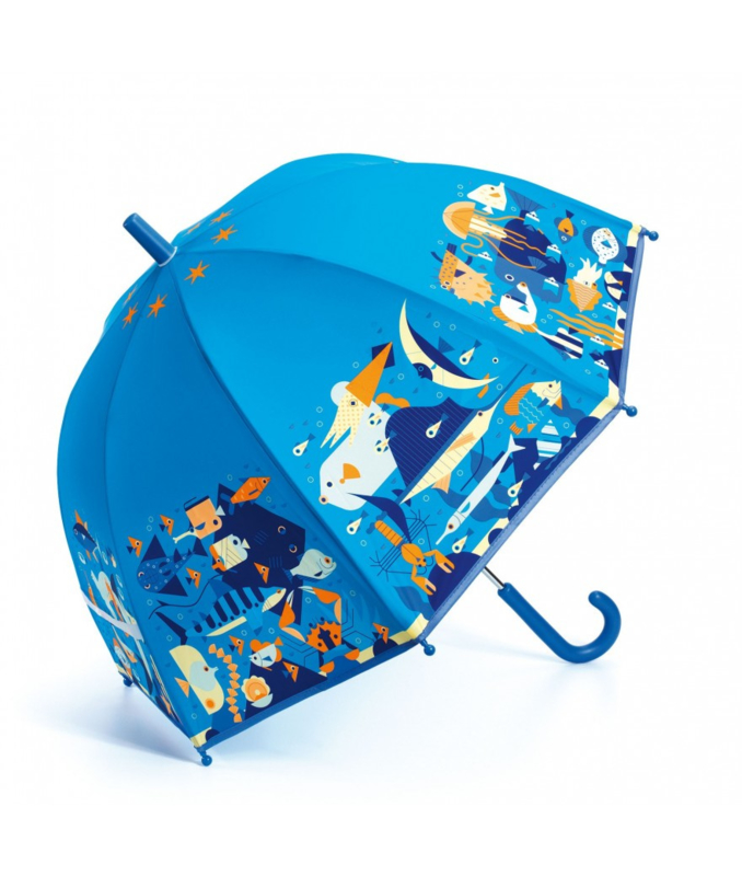Paraplu, zeewereld, Djeco