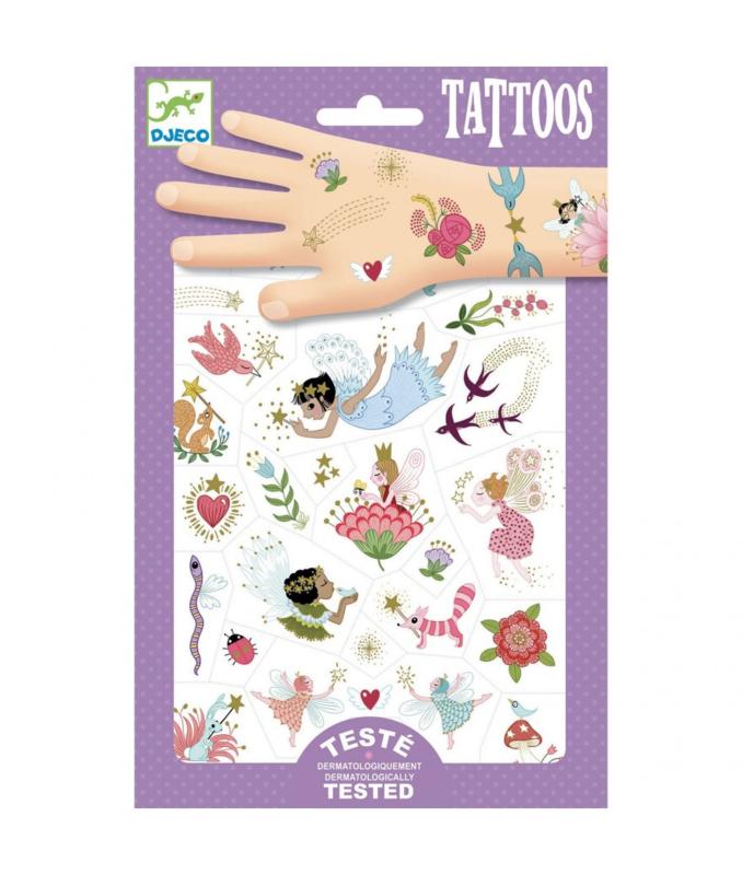 Djeco tattoo feeënvrienden