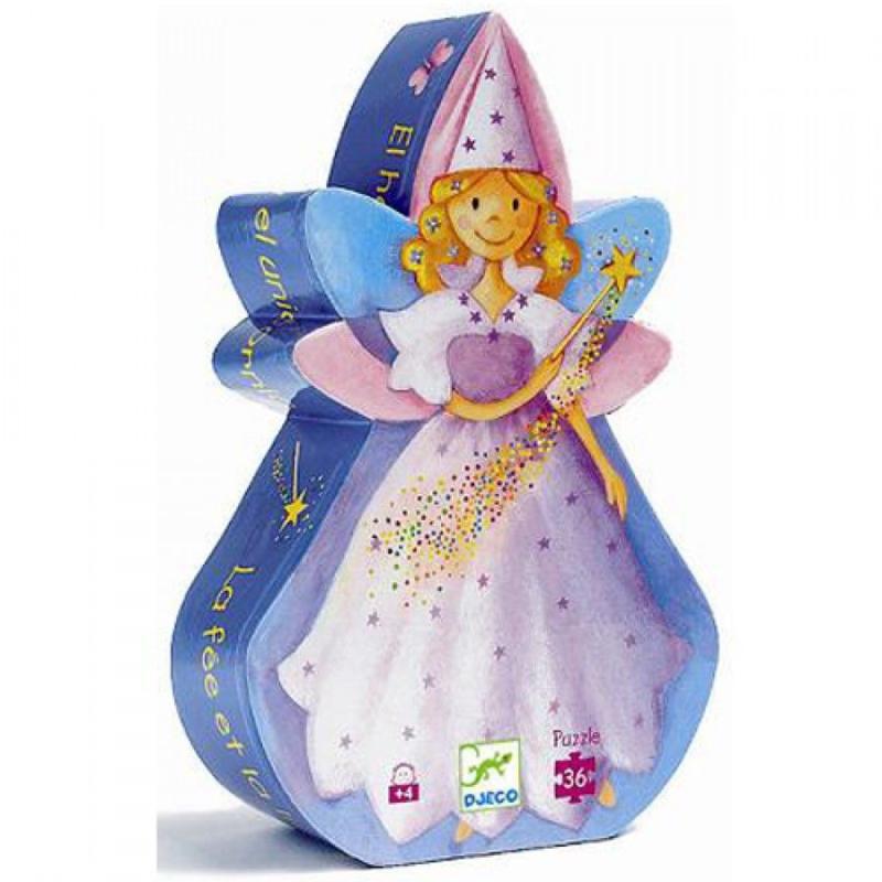Puzzel, Fairy and unicorn 36, Djeco