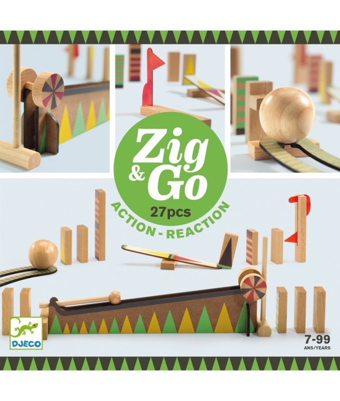 Zig & Go 27stuks, Djeco