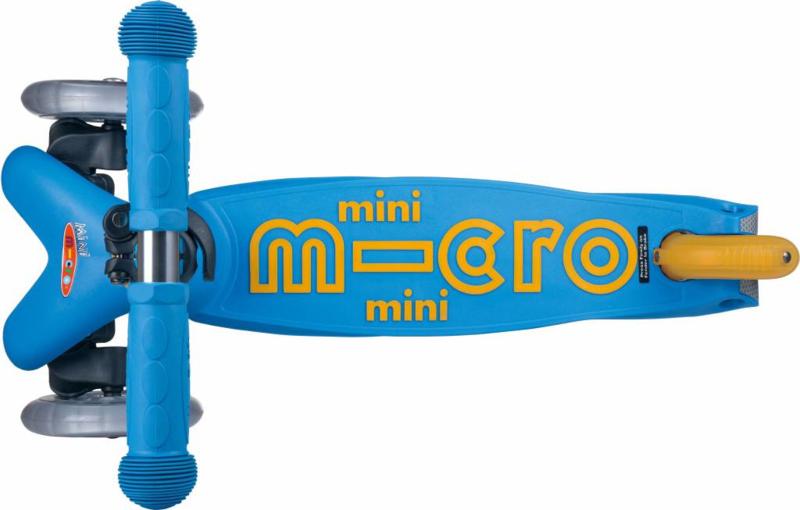 Mini de luxe, ocean blue, Micro step