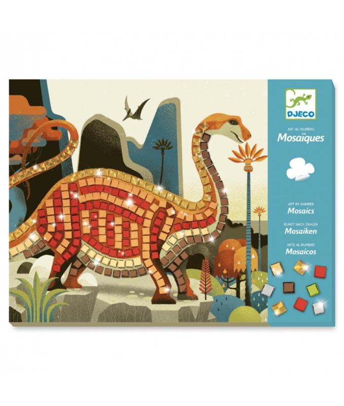 Djeco Mozaïek dinosaurus