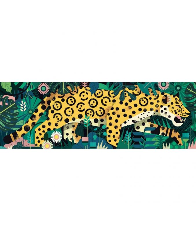 Djeco, puzzel Leopard 1000st.