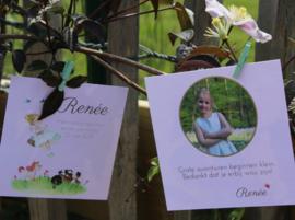 Communiekaarten of lentefeestkaartjes : illustratie mét persoonlijke elementen!