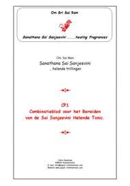 CP1 - Thema-uitgave Sai Sanjeevini Tonic