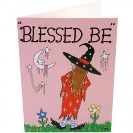 Set van 2 grappige Heksenkaarten (set b)