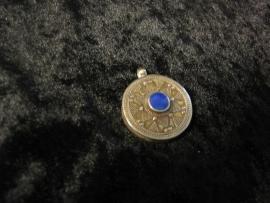 Hanger Lapis Lazuli rond
