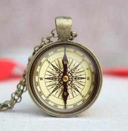 "Ketting ""Kompas"" brons"