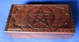 Tarotdoos Pentagram groot