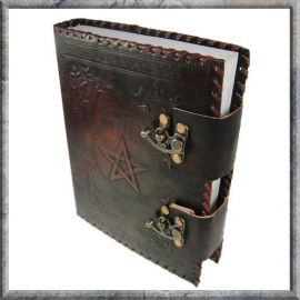 Book of Shadows Leer middel 25 cm