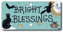 """Koelkastmagneet """"Bright Blessings"""""""