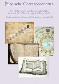 """Werkboek 4 """"Magische Correspondenties"""""""