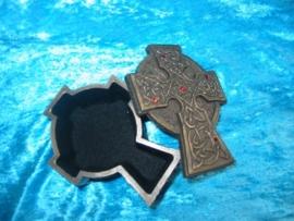 Opbergdoosje Keltisch Kruis