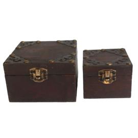 Gothic Boxen (set van 2)
