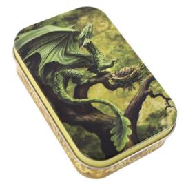 """Blikken Doosje """"Forest Dragon"""""""