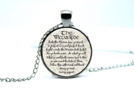 "Ketting ""Wiccan Rede"""