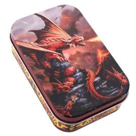 """Blikken Doosje """"Fire Dragon"""""""