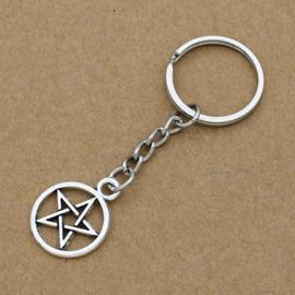 Sleutelhanger Pentagram