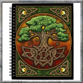 "Book of Shadows ""Circle of Life"" Medium"