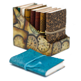 Medium Leren Boekjes in Doos (8 stuks)