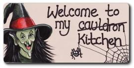 """Koelkastmagneet """"Welcome to ..."""""""