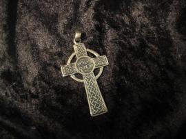 Hanger Keltisch Kruis groot