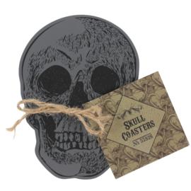 "Onderzetters ""Skull"""