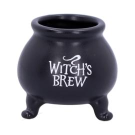 """Keteltje """"Witch's Brew"""" 7cm Keramiek"""