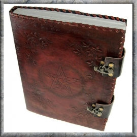 Book of Shadows Leer groot 35 cm