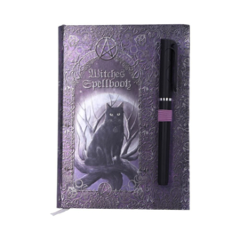 "Witches Spellbook A5 met Pen ""Cat"""