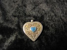 Hanger Howliet (blauw) hart