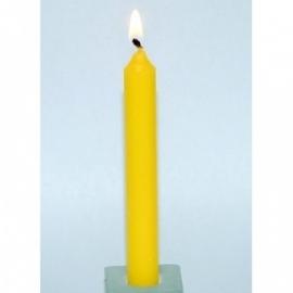 Spell Candle Geel (3 stuks)